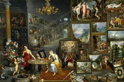 Sight and Smell, Ca. 1620 by Jan Brueghel the Elder