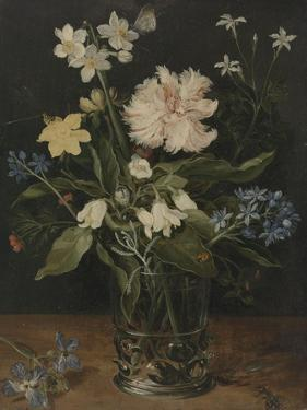 Still Life with Flowers in a Glass, 1630 by Jan Brueghel the Elder