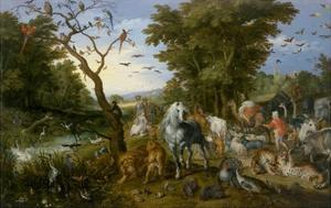The Entry of the Animals into Noah's Ark, 1613 by Jan Brueghel the Elder