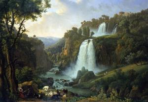 The Falls of Tivoli, 1822 by Jan Brueghel the Elder