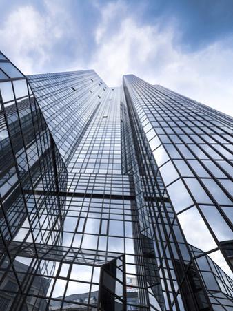 Deutsche Bank tower in Frankfurt am Main, Hesse, Germany