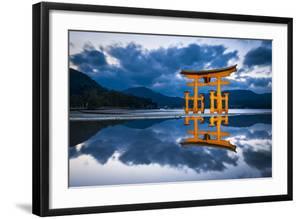 The great Torii of Miyajima island, Hiroshima Prefecture, Japan by Jan Christopher Becke
