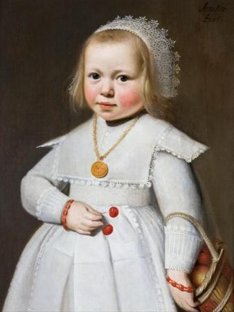 Portrait of a Two-Year Old Girl, 1636 by Jan Cornelisz van Loenen
