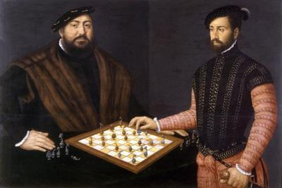 John Frederick the Magnanimous Playing Chess, 1552