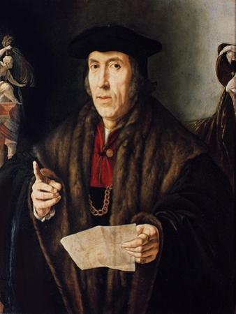 Portrait of a Man, Possibly Judge John More, Father of Sir Thomas More (1478-1535)