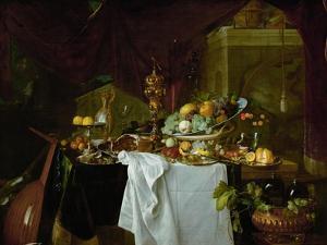 Dessert. Still-life, 1640 by Jan Davidsz de Heem
