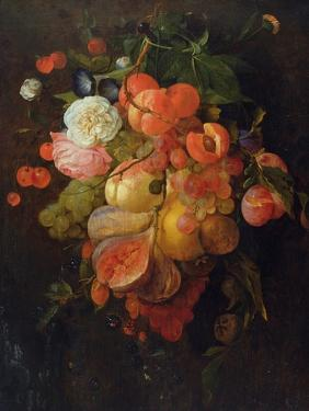 Fruit and Flowers by Jan Davidsz^ de Heem