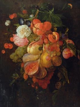 Fruit and Flowers by Jan Davidsz. de Heem