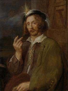 Self-Portrait, Jan Davidsz. De Heem. by Jan Davidsz de Heem
