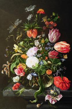 Still Life of Flowers by Jan Davidsz. de Heem