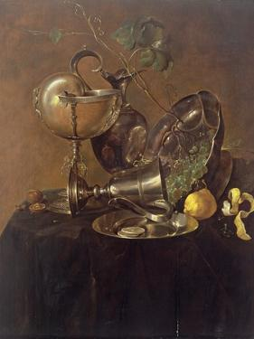 Still Life with a Nautilus Cup, 1632 by Jan Davidsz. de Heem