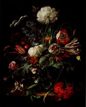 Vase of Flowers by Jan Davidsz. de Heem