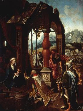 The Adoration of the Kings by Jan De Beer