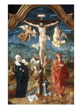 The Crucifixion by Jan De Beer