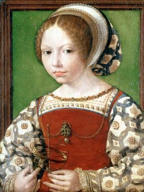 A Little Girl, C1520 by Jan Gossaert