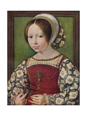 'A Young Princess (Dorothea of Denmark)', c1530-32 (c1927)