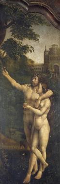 Adam and Eve, Rear Side Panel of Malvern Triptych, 1511-1515 by Jan Gossaert