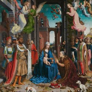 Adoration of the Magi, 1510-15 by Jan Gossaert