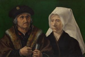 An Elderly Couple, C. 1520 by Jan Gossaert