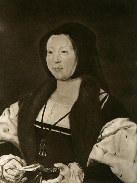 Anne, Marquise De Veere, Wife of Adolphe De Bourgogne by Jan Gossaert