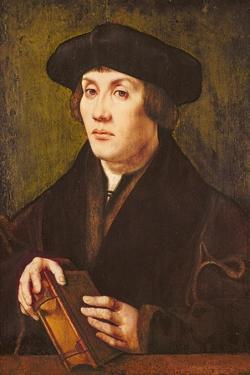 Portrait of a Scholar by Jan Gossaert