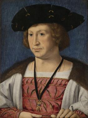Portrait of Floris Van Egmond, Count of Buren En Leerdam by Jan Gossaert