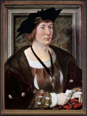 Portrait of Hendrik III, Count of Nassau-Breda, C1516-1517 by Jan Gossaert