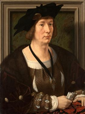 Portrait of Henry III of Nassau-Breda (1483-153) by Jan Gossaert