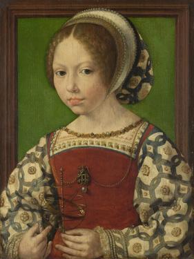 Portrait of Princess Dorothea of Denmark (1520-158), Ca 1530 by Jan Gossaert