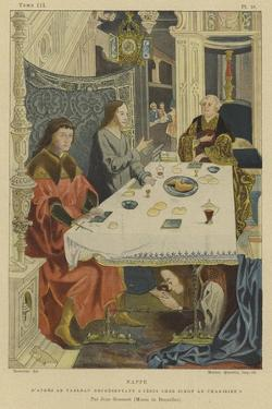 Tablecloth by Jan Gossaert