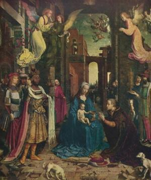 'The Adoration of the Kings', c1510, (1912) by Jan Gossaert