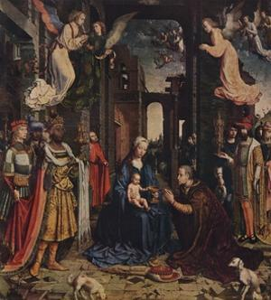 The Adoration of the Kings, c1510, (1938) by Jan Gossaert