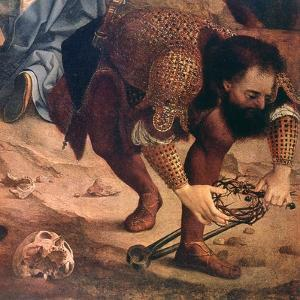 The Descent from the Cross (Detail), C1520 by Jan Gossaert