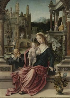 The Holy Family by Jan Gossaert