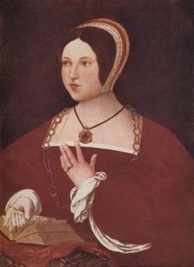 Thought to be 'Margaret Tudor', c1528 (c1924) by Jan Gossaert