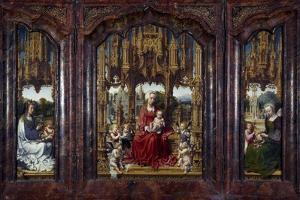 Triptych Malvern, 1511-1515 by Jan Gossaert