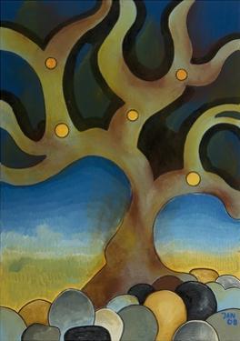Burnt Tree, 2008 by Jan Groneberg