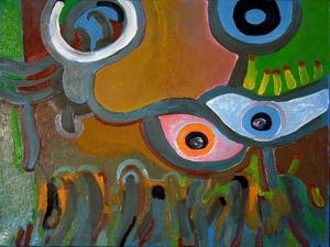 Eyes Do Not Believe What They See, 2009 by Jan Groneberg