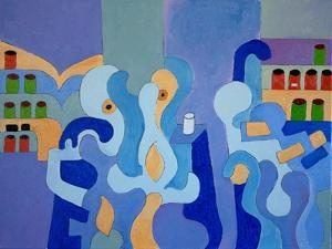 Inside the Pharmacy, 2009 by Jan Groneberg