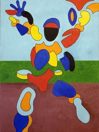 The Athlete, Disintegrating at the Moment of His Triumph, 2007