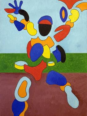 The Athlete, Disintegrating at the Moment of His Triumph, 2007 by Jan Groneberg