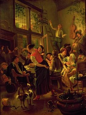Family Meal by Jan Havicksz Steen