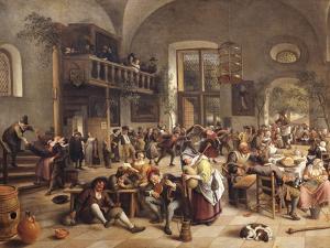 Feast in an Inn by Jan Havicksz. Steen