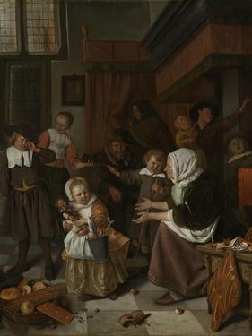 Feast of St Nicholas by Jan Havicksz Steen