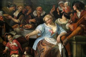 Merry Company on a Terrace, Ca. 1673–75 by Jan Havicksz. Steen