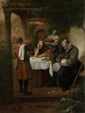 Supper at Emmaus by Jan Havicksz Steen