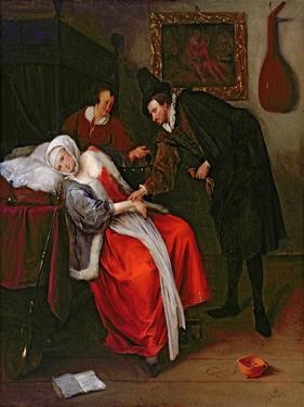 The Doctor's Visit, C.1663 by Jan Havicksz. Steen