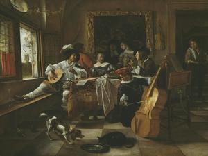 The Family Concert, 1666 by Jan Havicksz Steen