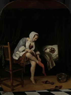 Woman at Her Toilet by Jan Havicksz Steen