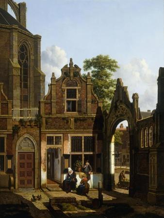 A Dutch Courtyard, 1822